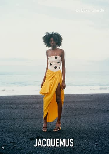 Jacquemus - Photo production on Canary Islands by Paraiso productions